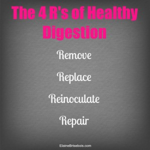 The 4 R's of Healthy Digestion