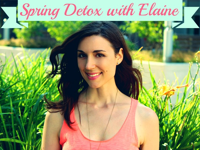 Spring Detox with Elaine