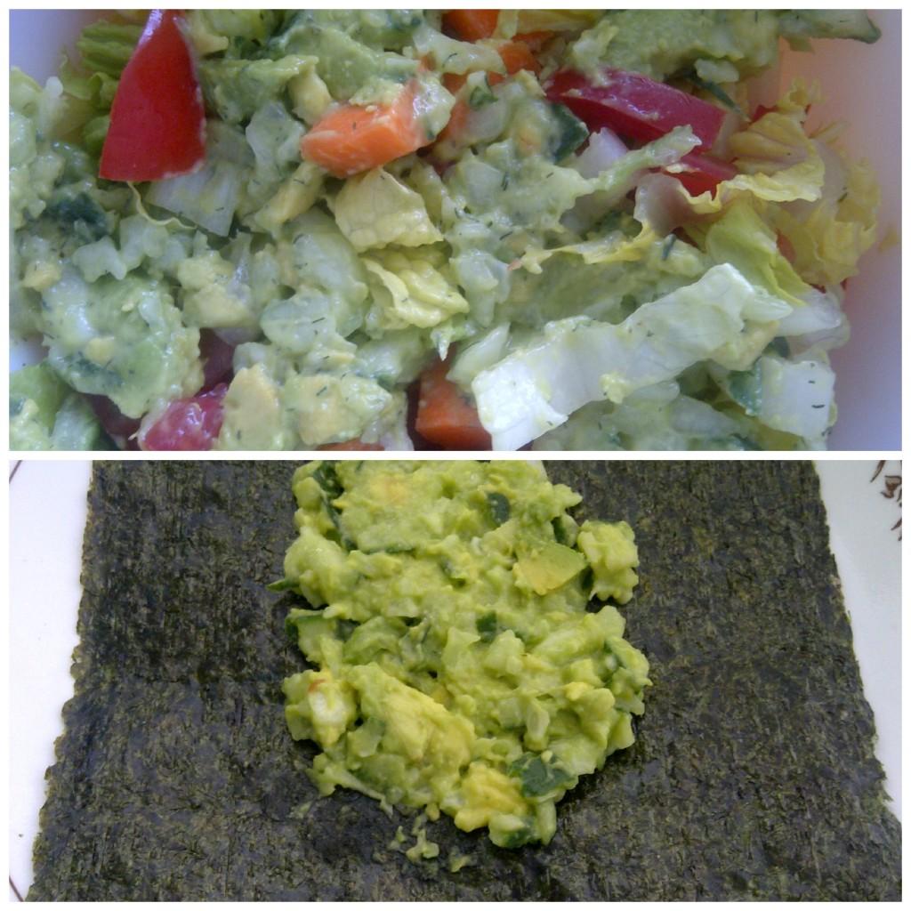 Chunky Cucumber & Avocado Dip
