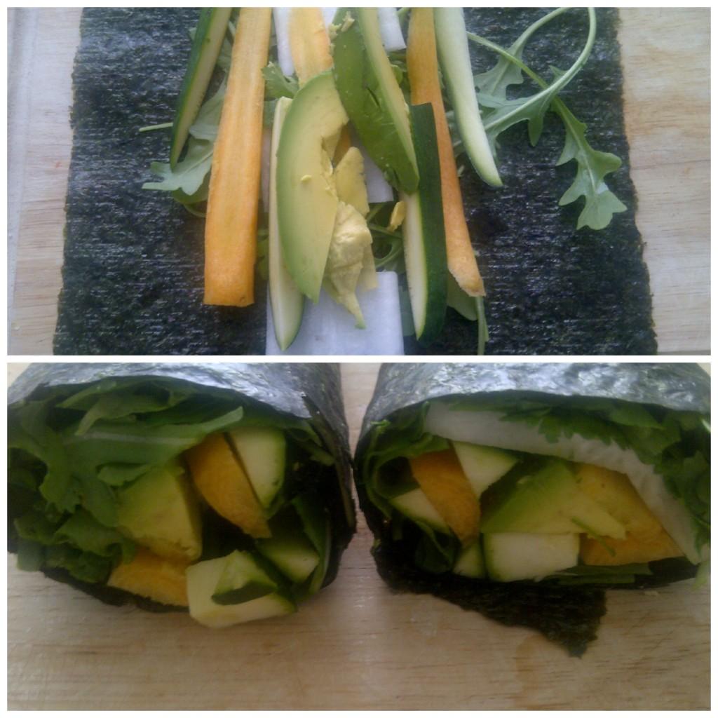 Nori Avocado Rolls