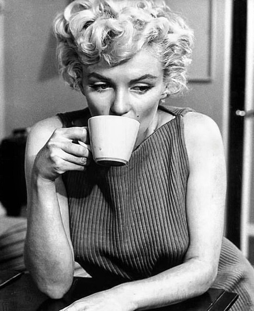 marilyn and coffee